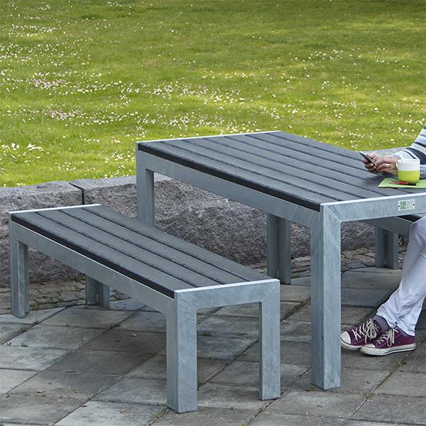 Bänkar Rastmöbler Picknickbord Parkmöbler Utemöbler För Offentliga Milj